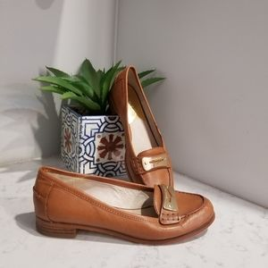 🥿 MICHAEL KORS LEATHER LOAFERS